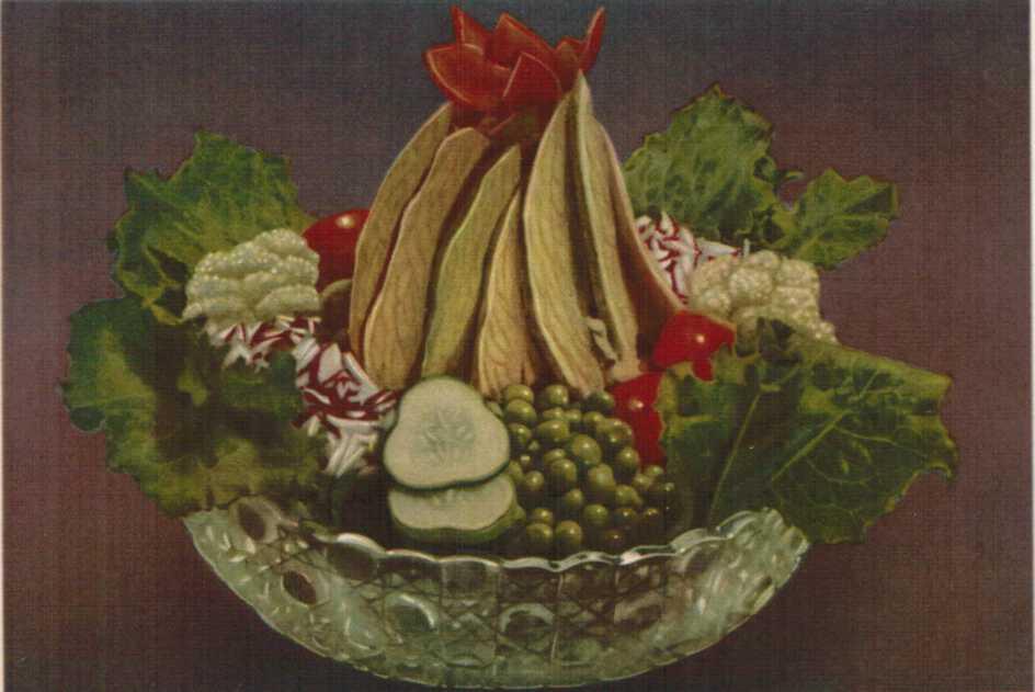 овощей и из Салат дичи